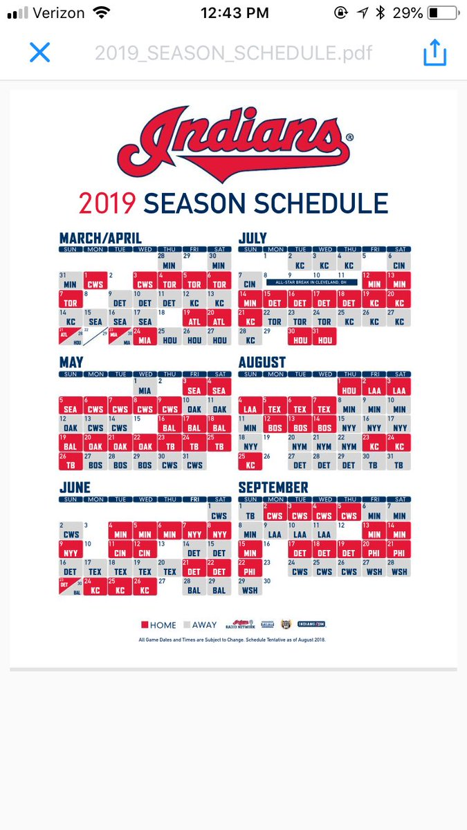 Crush image throughout cleveland indians printable schedule