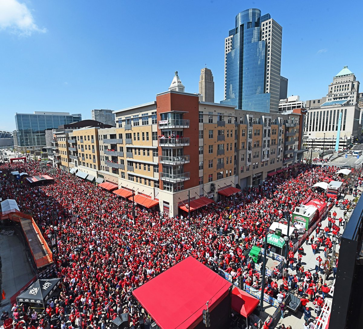 Image result for reds opening day