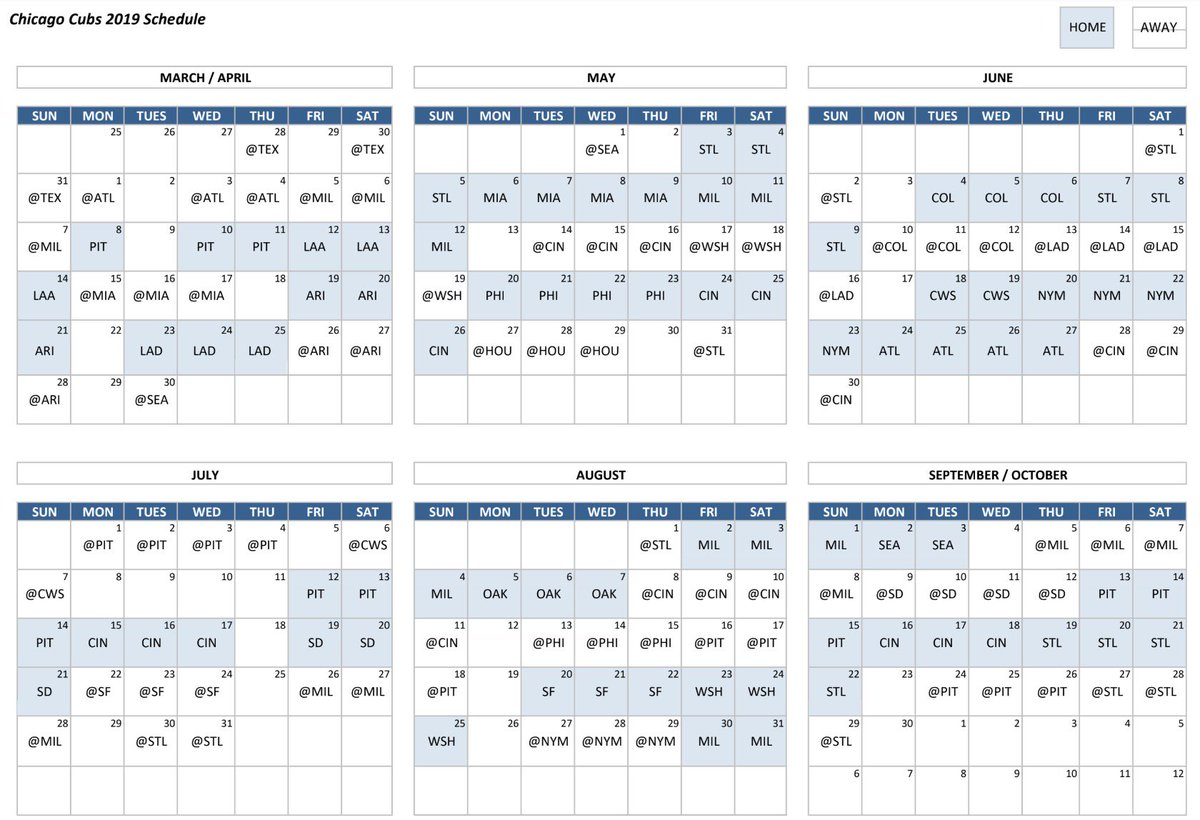 It is a picture of Transformative Cubs 2020 Schedule Printable