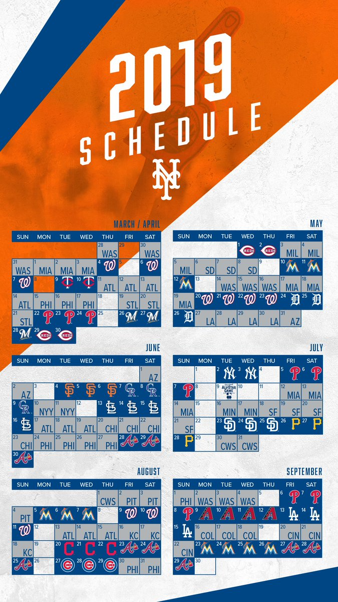 graphic relating to Printable Mets Schedule called Contemporary York Mets upon Twitter: \