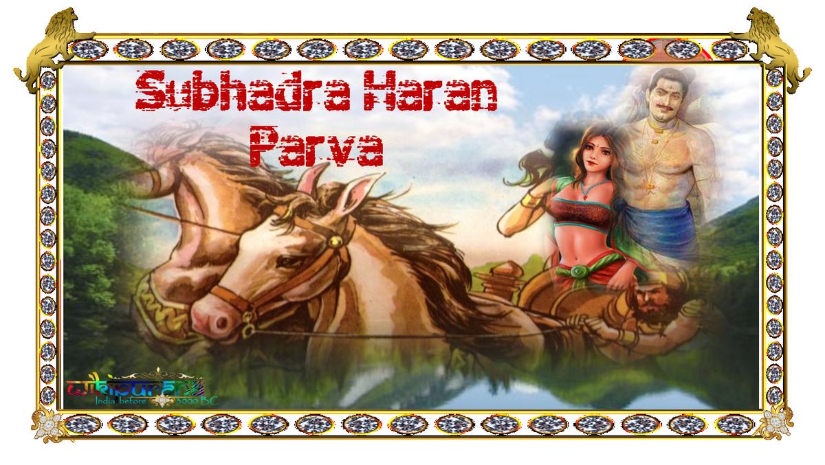Subhadhra haran