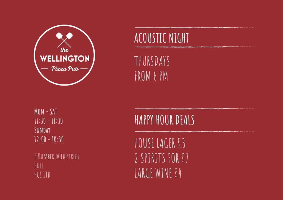 The Wellington Pizza Pub At Wellpizzapub Twitter