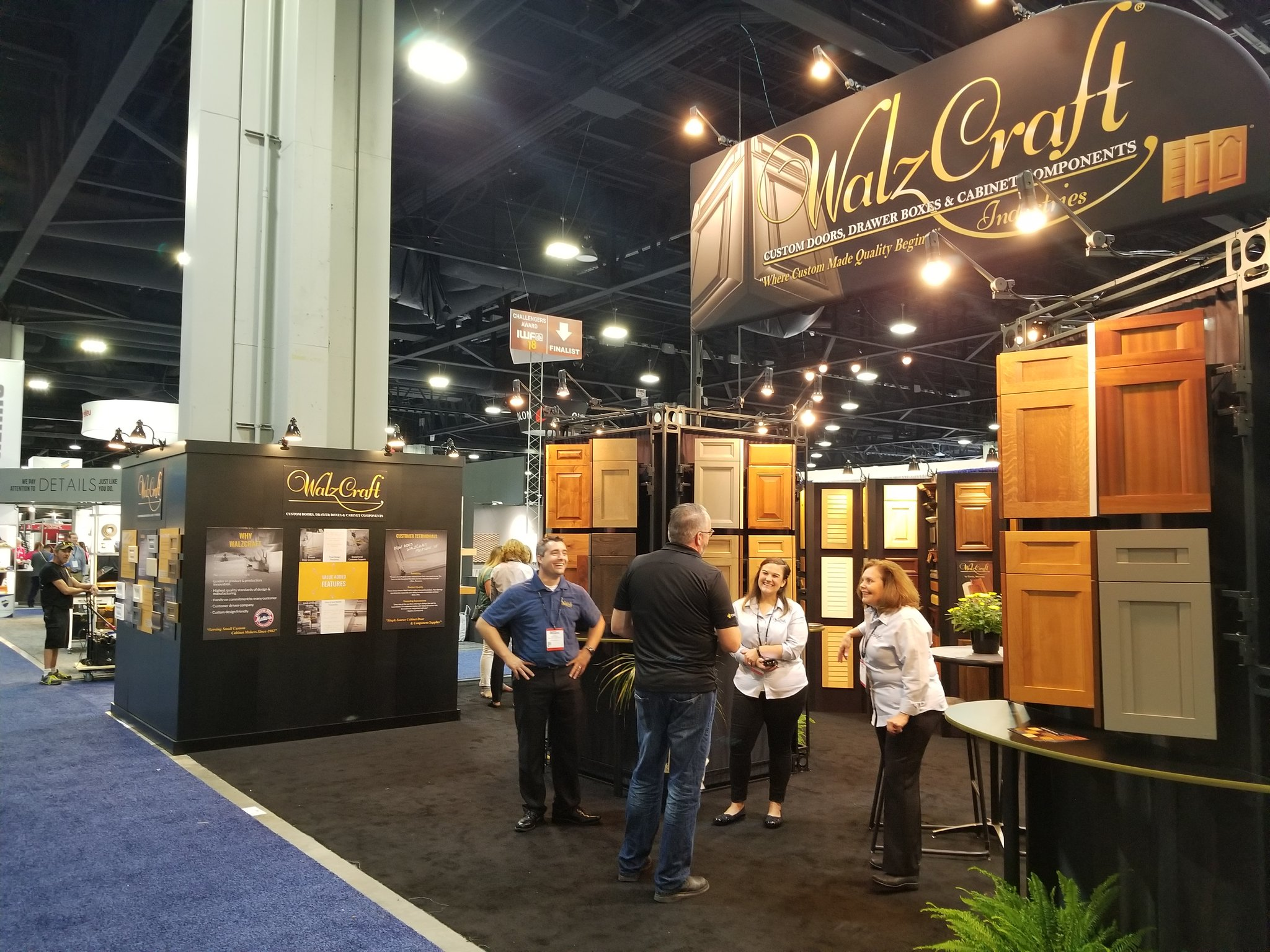 Walzcraft On Twitter Opening Day Of Iwfatlanta Is Underway Don T Forget To Visit In Booth 1304