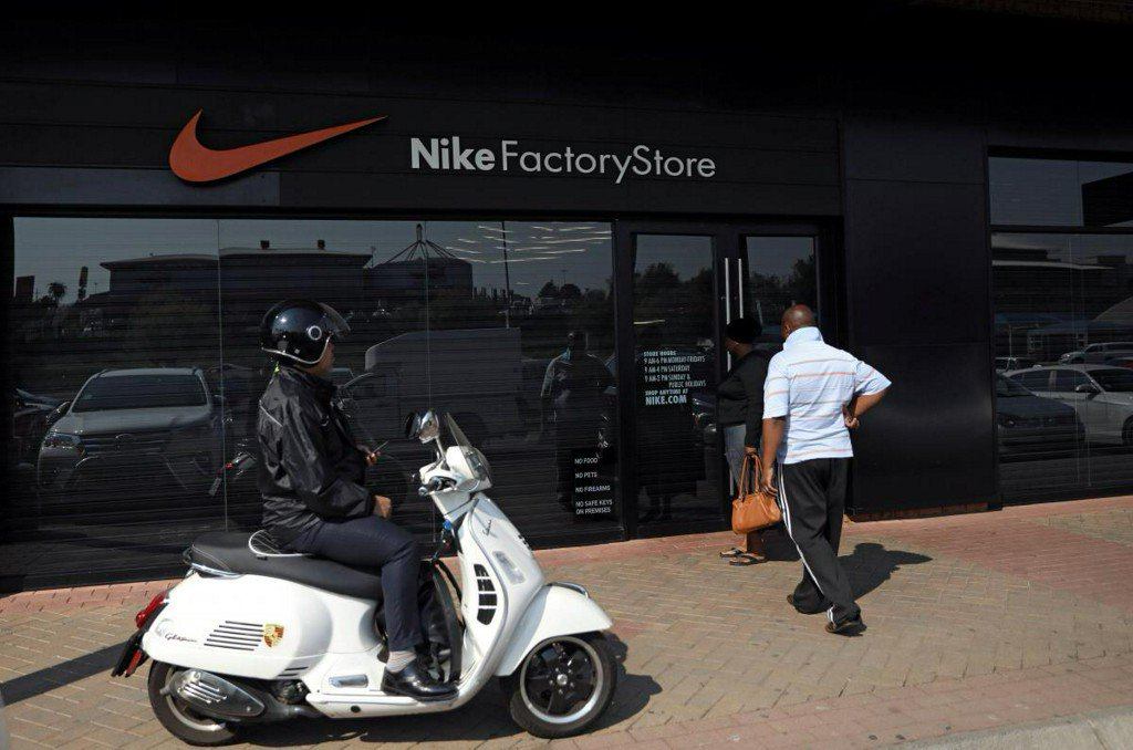 Nike stores closed in South Africa amid outcry over racist web post