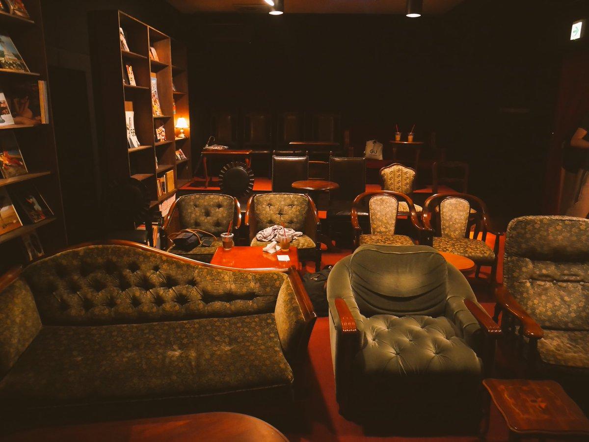 映画好きにはたまらない!!1日中入られて食事もできる洋館映画館が素敵!!