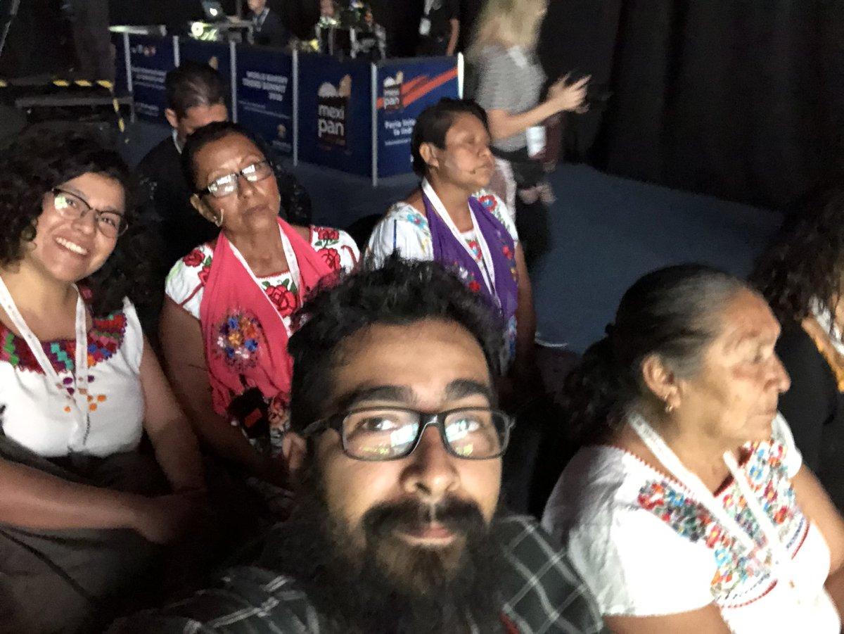 Muy feliz de estar en el evento de #mexipan con las mujeres panaderas, contento de ver el resultado de  estos meses de trabajo, los estados que visitamos son, Oaxaca, Veracruz y Tabasco. #MujeresPanaderas. https://t.co/ubAeEGFZ2I