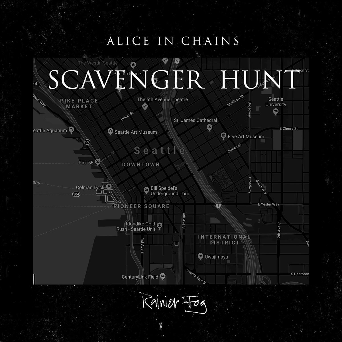 """Rainier Fog Alice In Chains: Alice In Chains On Twitter: """"We're Performing In A Secret"""