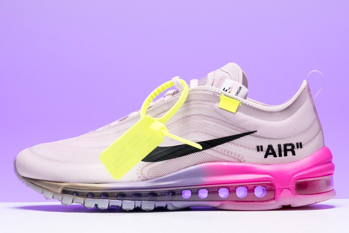 brand new 1afec 8ab9c The Serena Williams x Off-White x Nike Air Max 97 by Virgil Abloh  celebrates the tennis legend s bold style, on court and off.  https   buff.ly 2o73Nyd ...