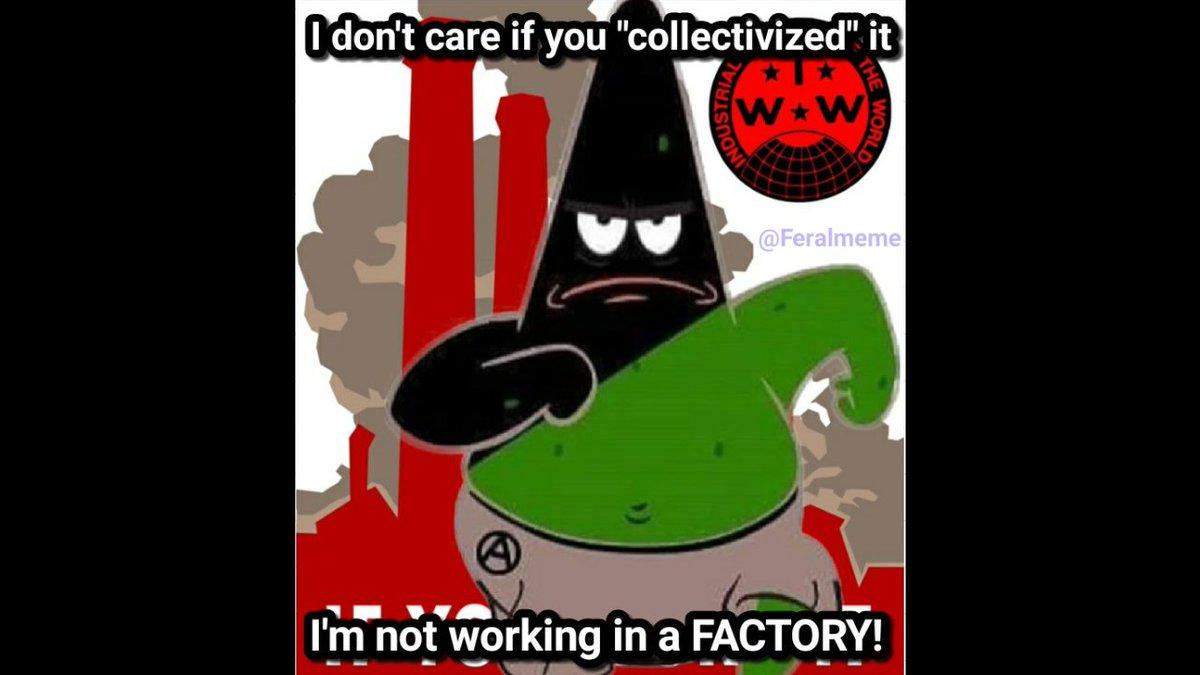 Feral Meme On Twitter Luddite Patrickstar Spongebob