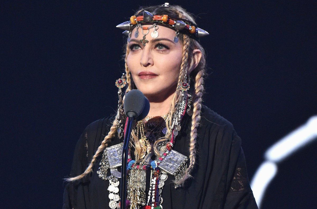 Aretha Franklin's family was not upset about Madonna's widely criticized #VMA tribute https://t.co/sEmVqTcUat