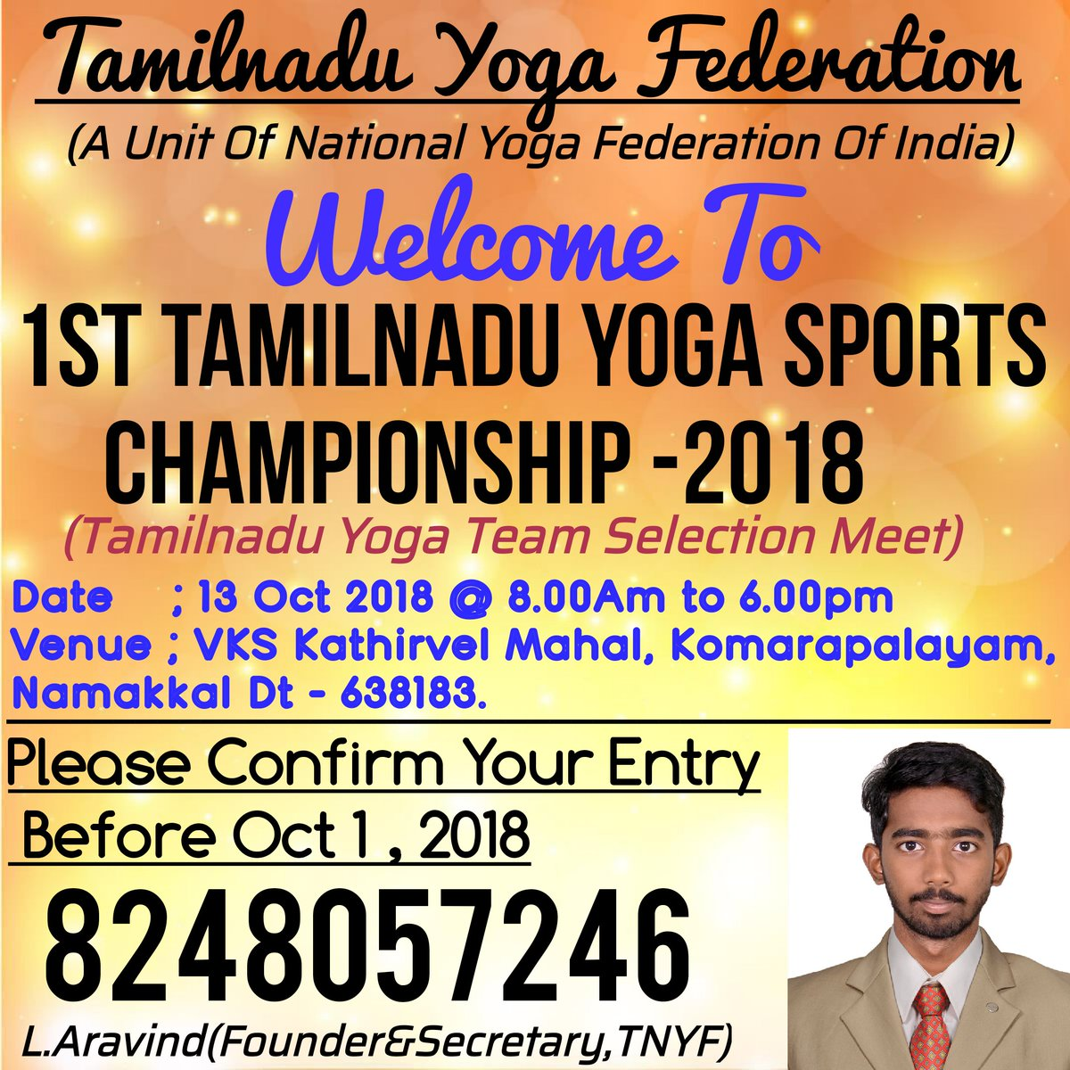 Tamilnadu Yoga Federation on Twitter: