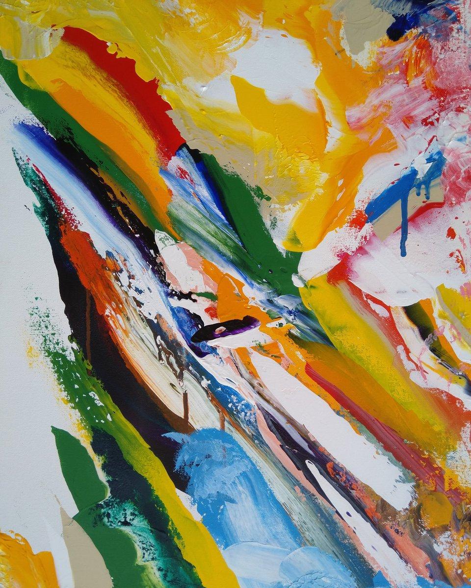 Bright Colourful Modern Art
