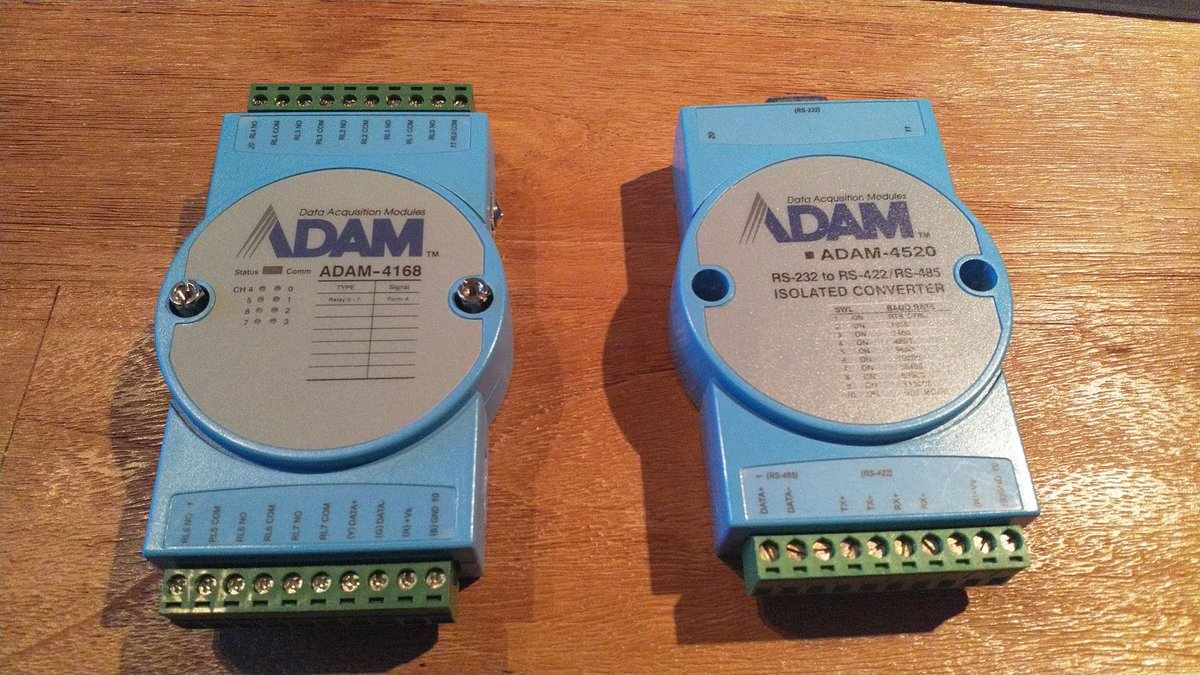 Sander Vd Veldemvp On Twitter Learning All About Modbus Rtu Rs232 Rs485 Wiring Azure Iotedge With These Iautomation Eu Adam Devices First I Have To Add Wires And