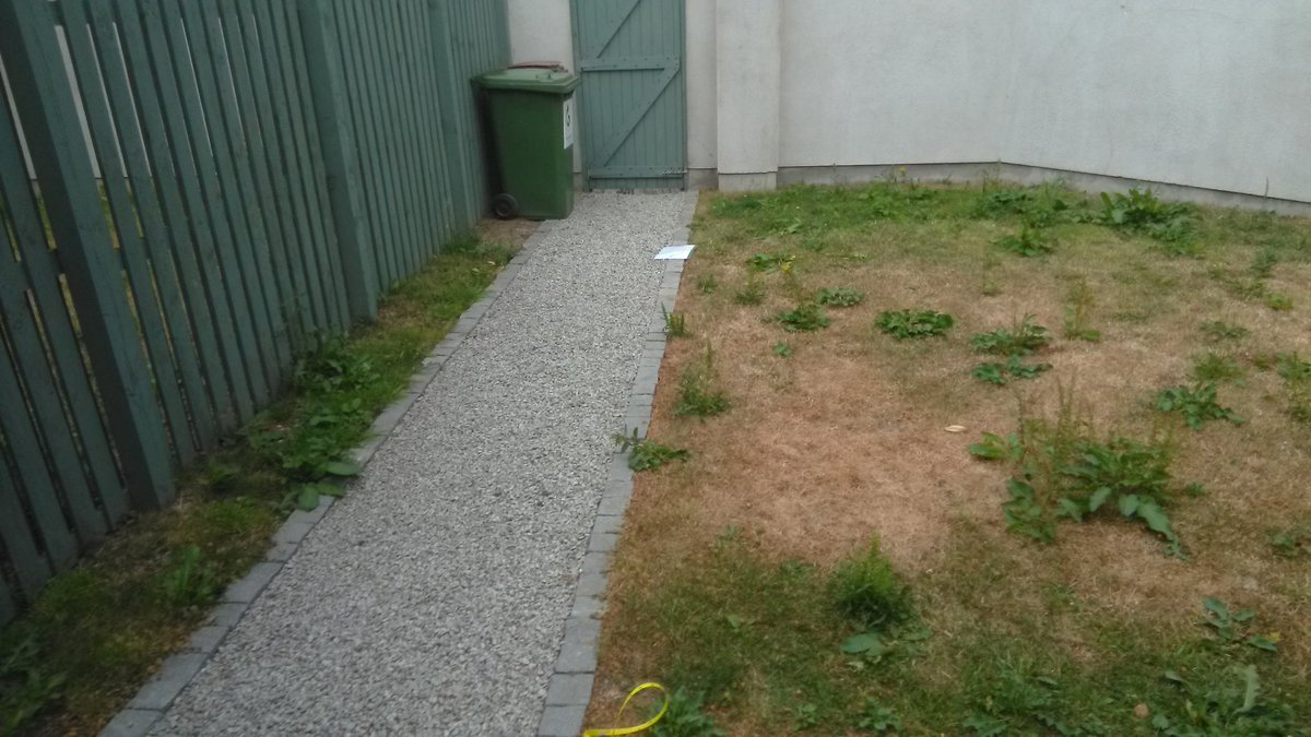 Before photos of a project in Drumcondra.