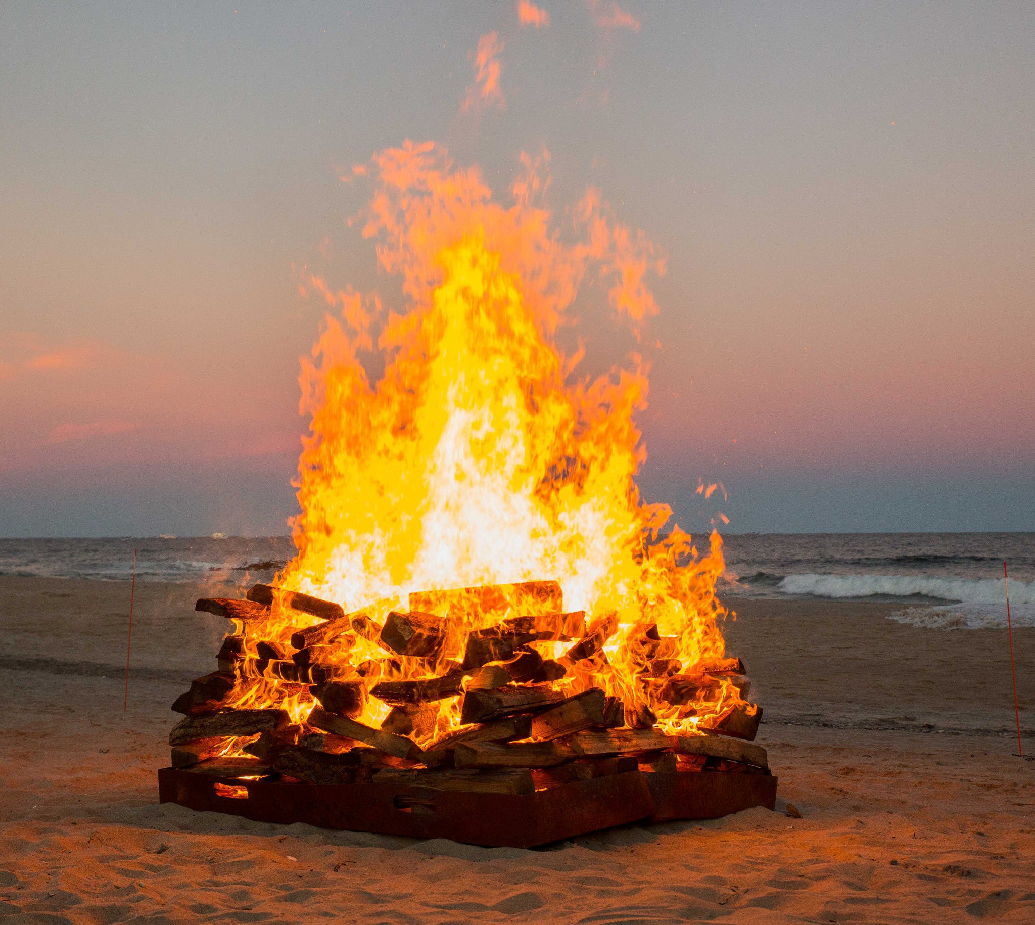 Image result for asbury park bonfire picture