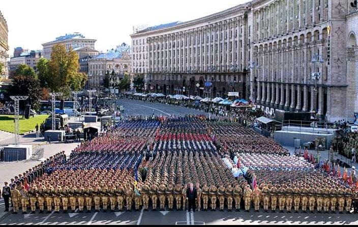 У генеральній репетиції параду на Хрещатику взяли участь парадні розрахунки 8 іноземних підрозділів, - Полторак - Цензор.НЕТ 9981