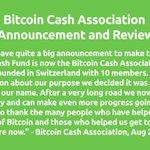 Image for the Tweet beginning: Continue reading:   @BitcoinCashA