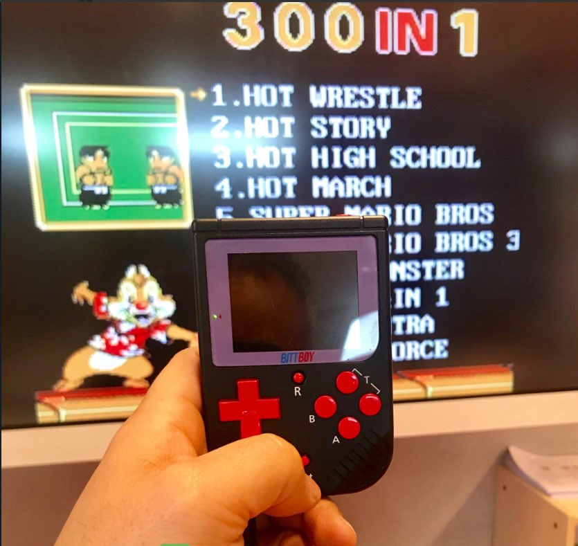 Connect Bittboy to TV, Change to a Bigger play screen @ColonelFalcon