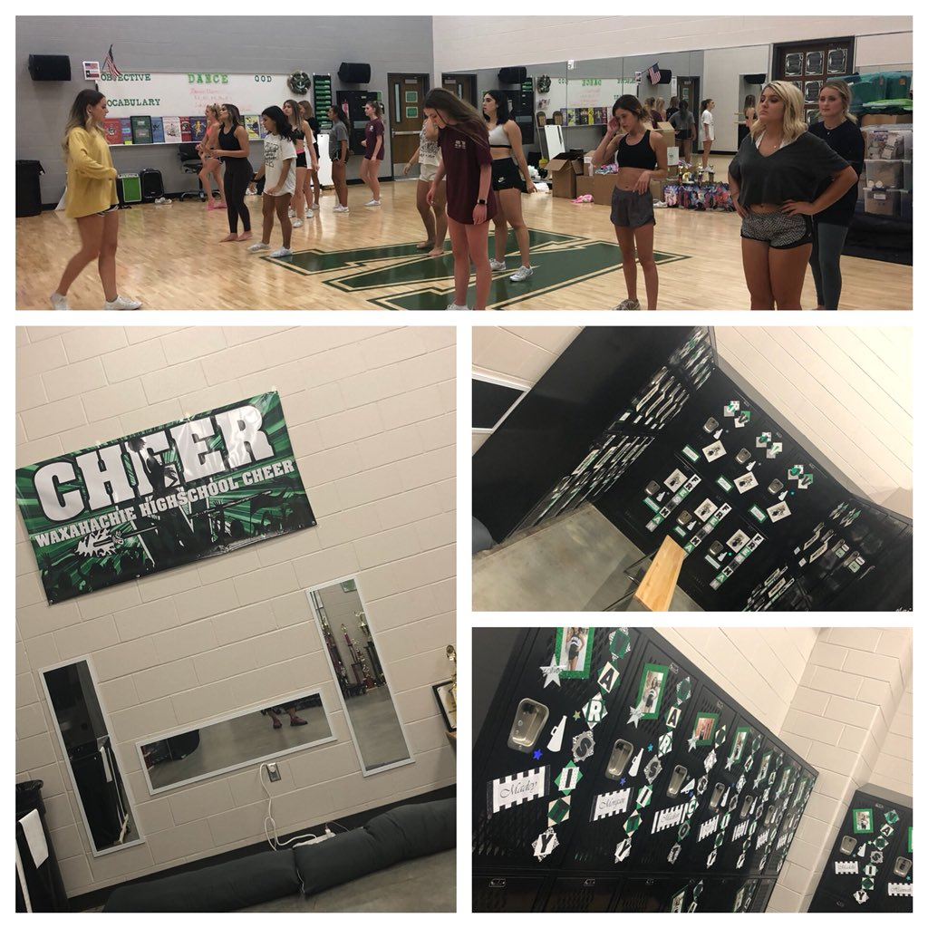 Whs Cheerleading On Twitter First Day In Our New Locker