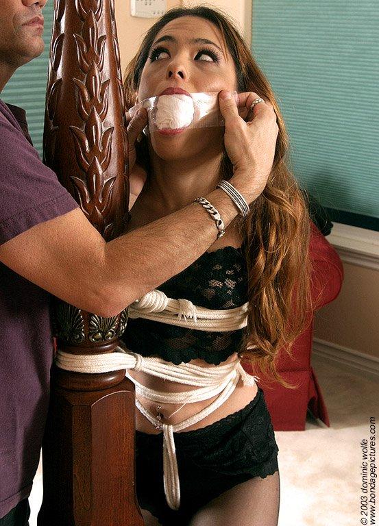 Jane fujisaki bondage model