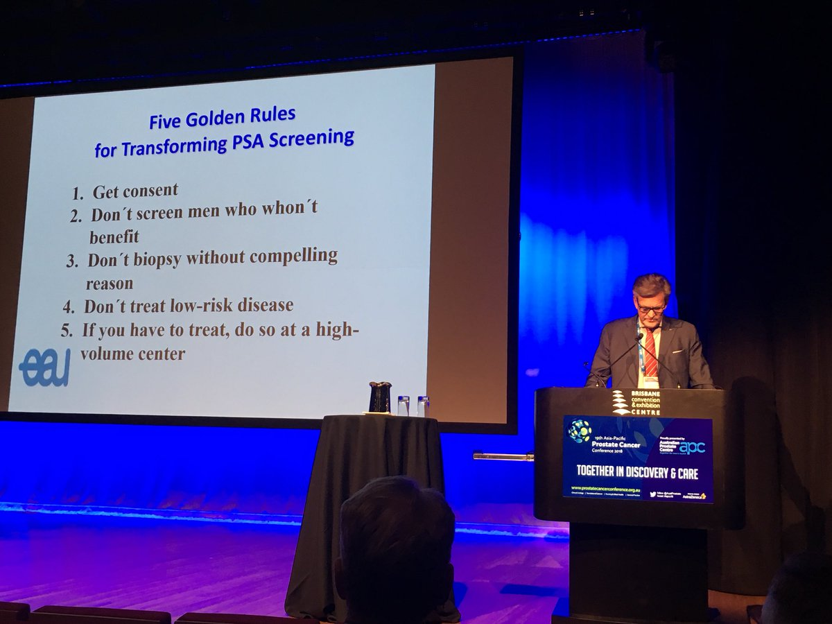 5 Golden Rules for Prostate Cancer Screening
