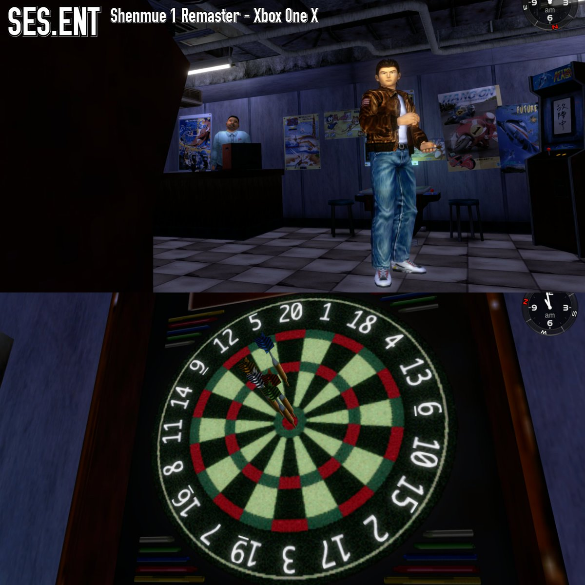 Ses Entertainment On Twitter Darts In Shenmue1 Remastered For