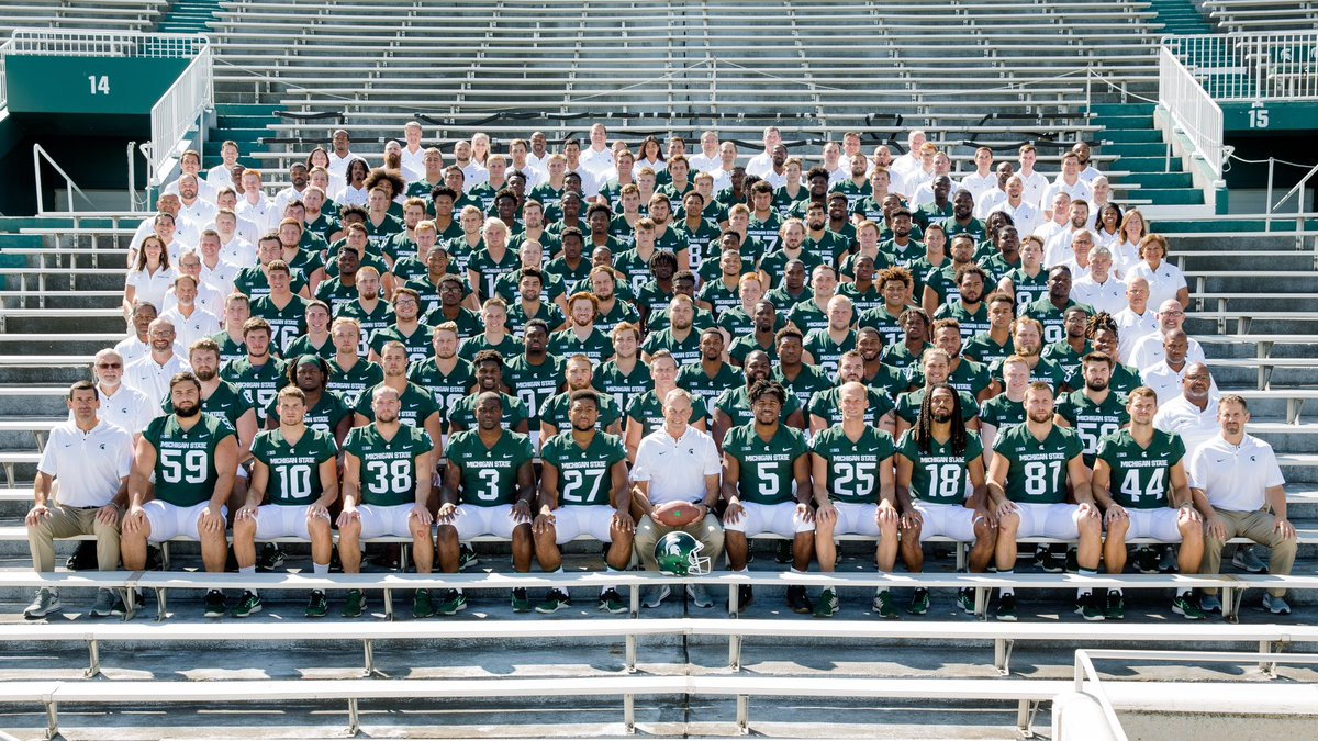 Michigan State Football On Twitter Team Picture Day In