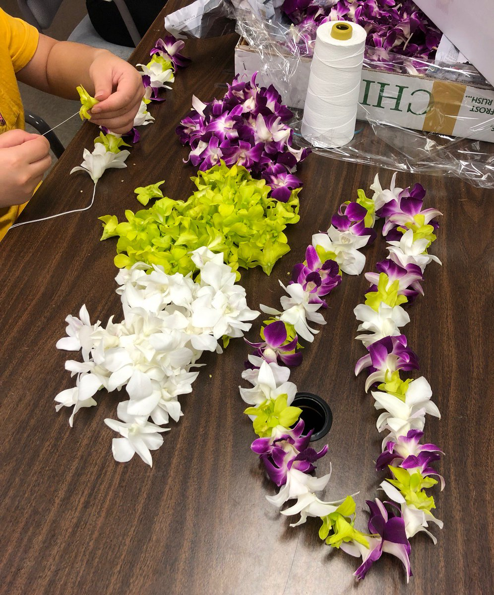 Hawaii flower lei hawaiiflowerlei twitter were putting a little extra aloha into our beautiful leis today shipping your orders out now in the midst of prepping for hurricane lane izmirmasajfo