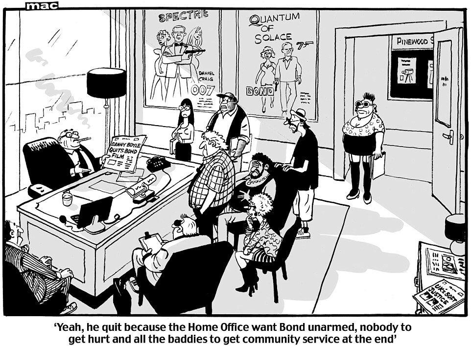 Political Cartoon On Twitter Mac On Danny Boyle Quitting
