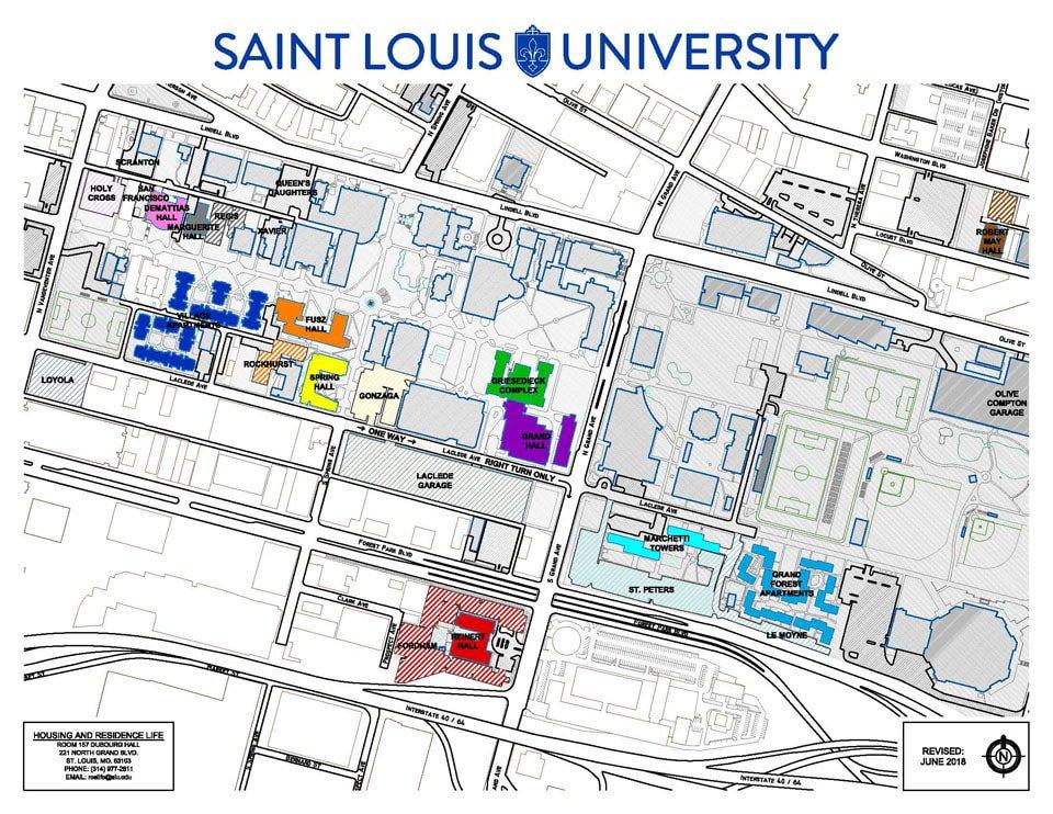 Saint Louis University On Twitter Reminder Traffic Campus