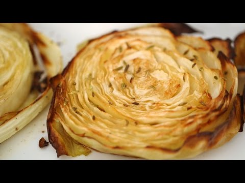 Must Make Roasted Cabbage Wedges - Everyday Food with Sarah Carey https://t.co/TPpshgNIng #Food #Recipes #foodvideos https://t.co/isfsjFeRnf
