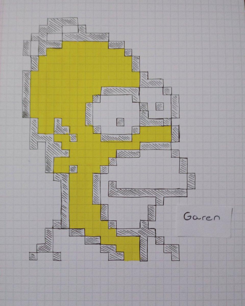 Garen Rengifo On Twitter Homero Simpson Pixel Art