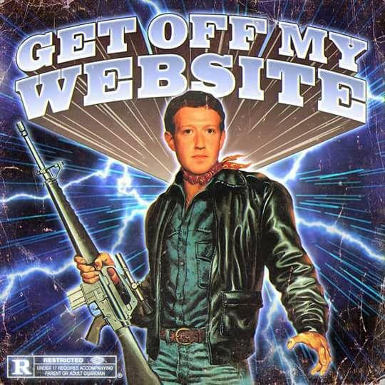 GET OFF MY WEBSITE