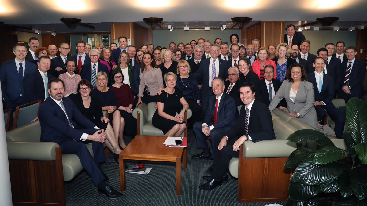 The Liberals have shut down the Parliament and given up on governing Australia.  My united and stable Labor team are ready to govern. We are 100% focused on delivering a fair go for all Australians.