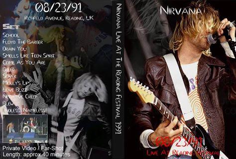 SheenaIsAPunkRocker On Twitter OnThisDay 1991 Nirvana Live At The Reading Festival