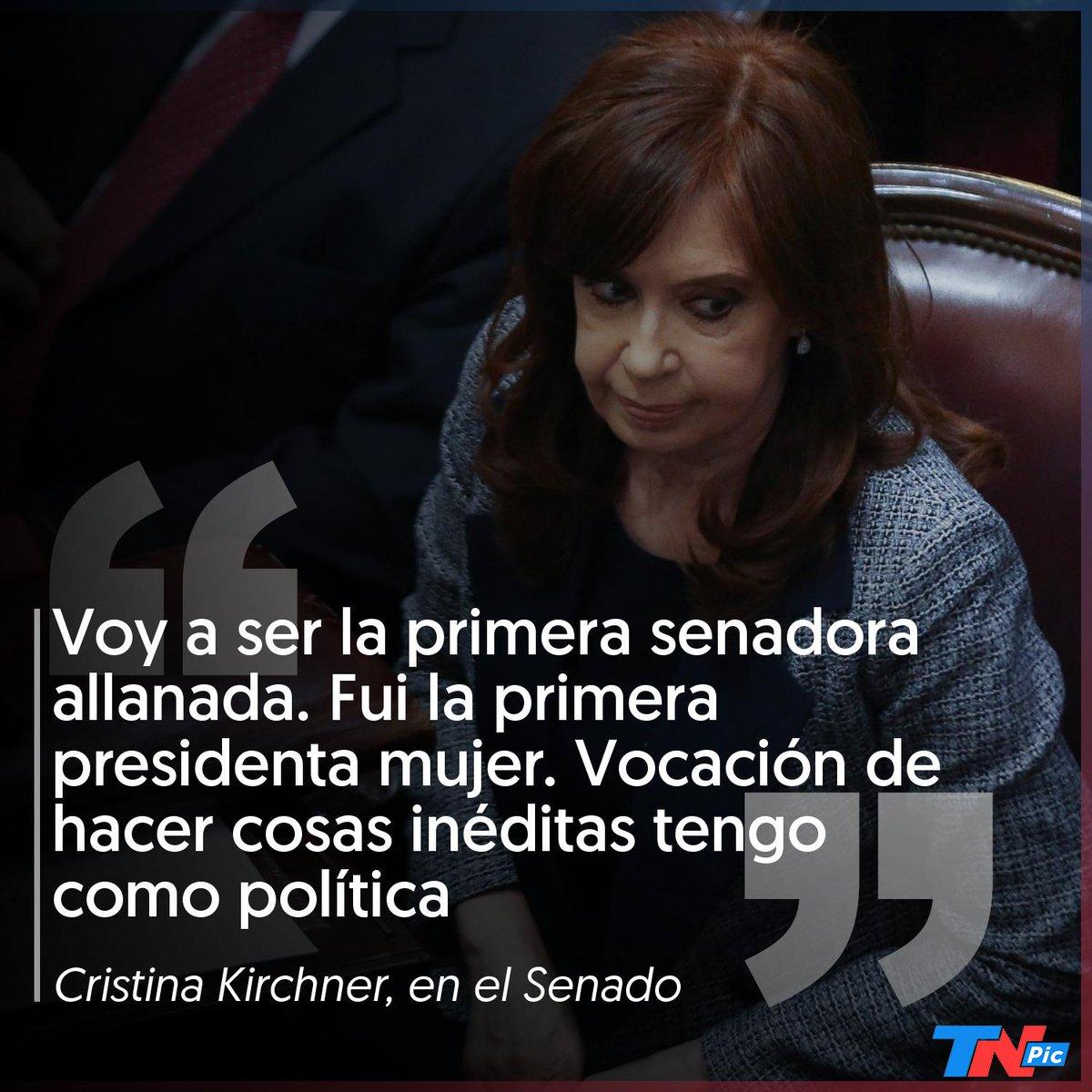 Cristina Kirchner Senado Frases Picantes Alegato Cristina