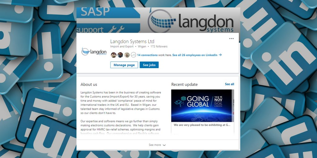 Langdon Systems Ltd on Twitter: