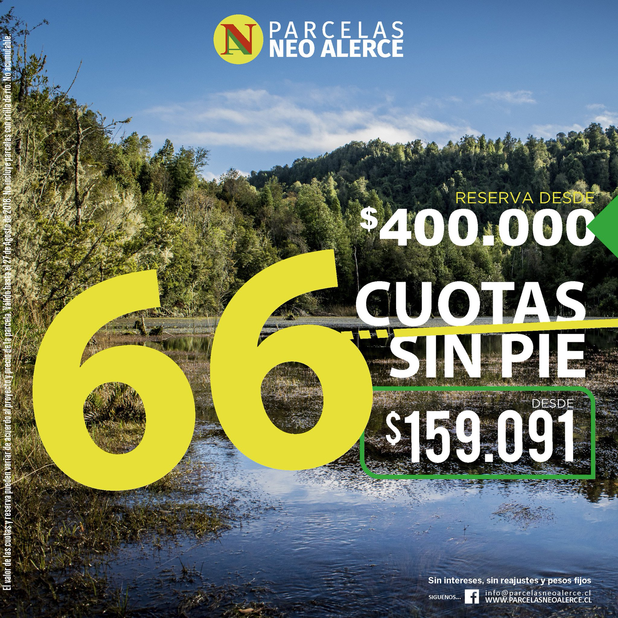 Parcelas Neo Alerce On Twitter Parcelas Hasta En 66 Cuotas