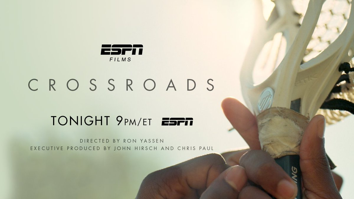 Our new ESPN Film #Crossroads starts NOW on @espn @CP3