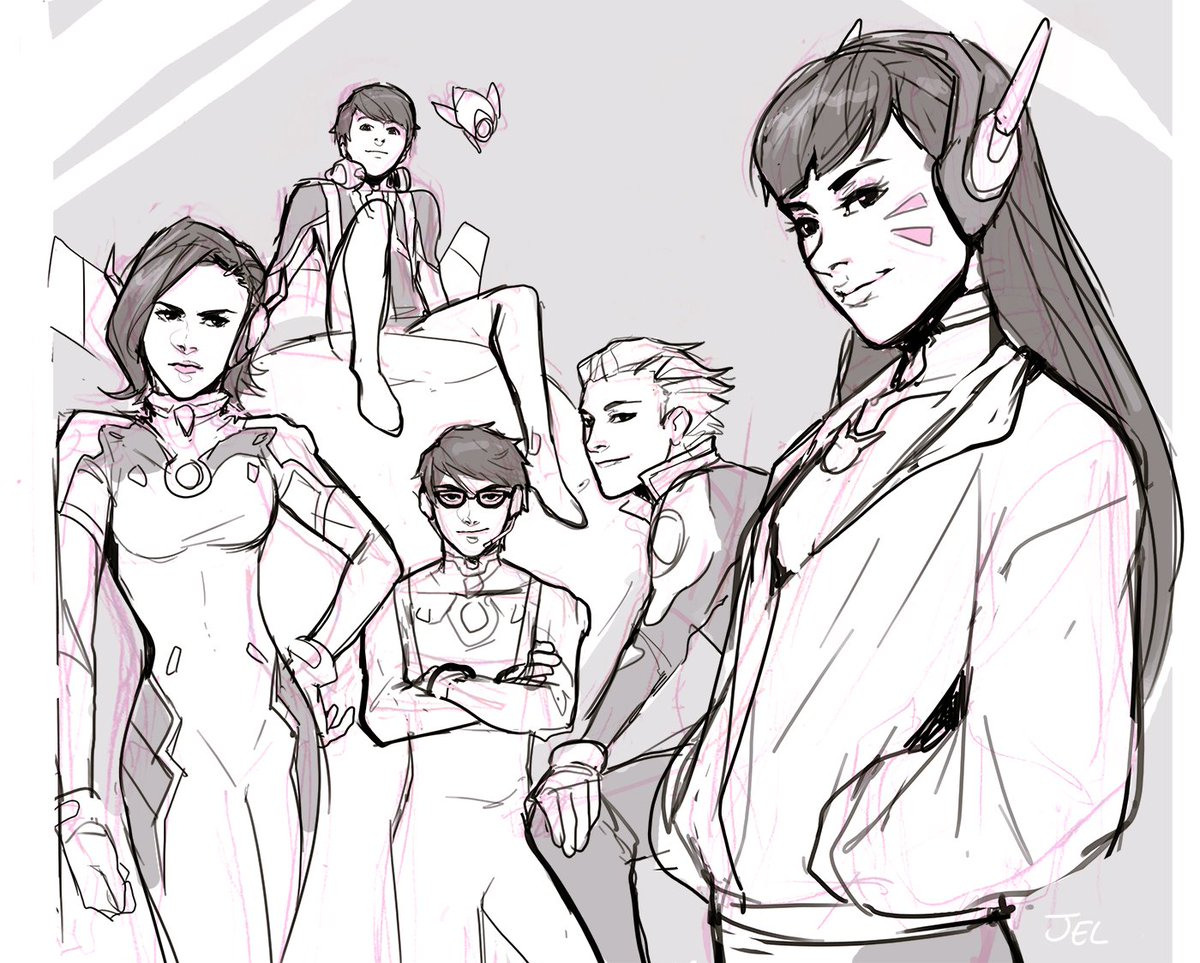 Jel On Twitter There Will Never Be Full Body References For The Meka Squad And That Stresses Me Out