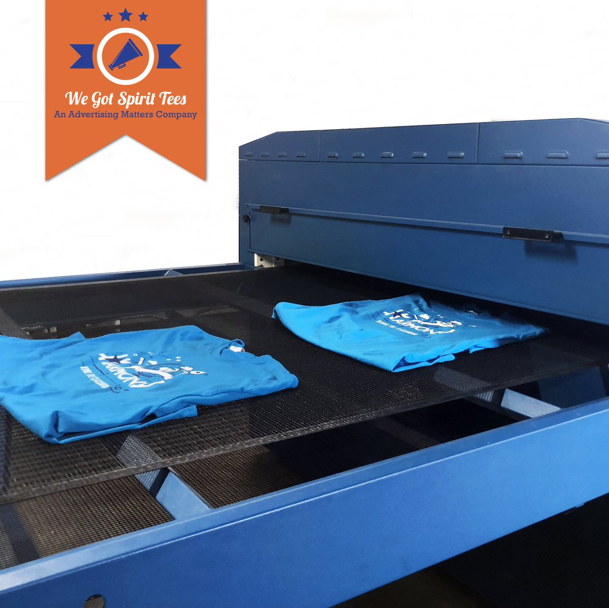 Another set of t shirts hot off the press are ready to go! Our turnaround is 6 business days for any t shirt orders.  Call us at (817) 244-0762 or email sales@advertising-matters.com to create an order! 😀 #WeGotSpiritTees https://t.co/ghPc0wS4Ra