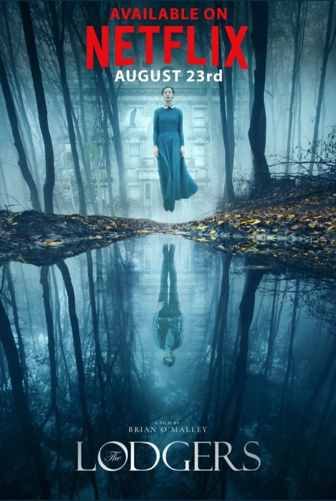 Make sure you watch #TheLodgers starring @Eugene_Simon. Available today on @netflix