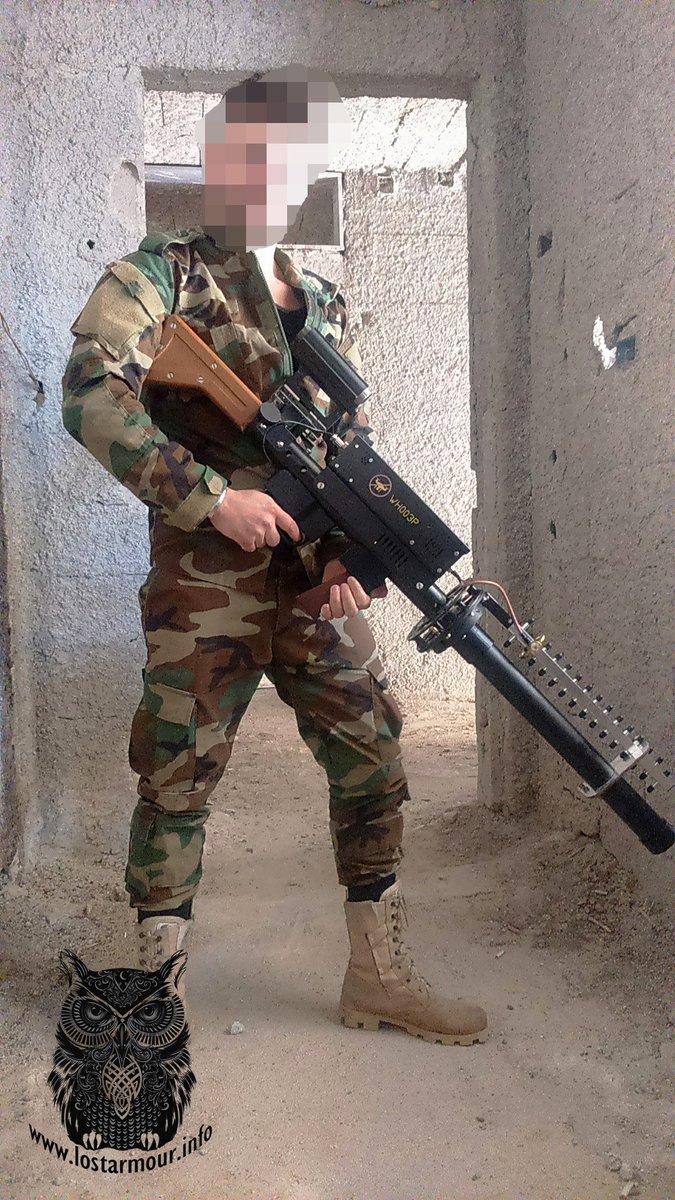 مانوع السلاح الموجود في الصوره ؟ مضاد للدرونات  DlSK1VmWwAAmyAJ