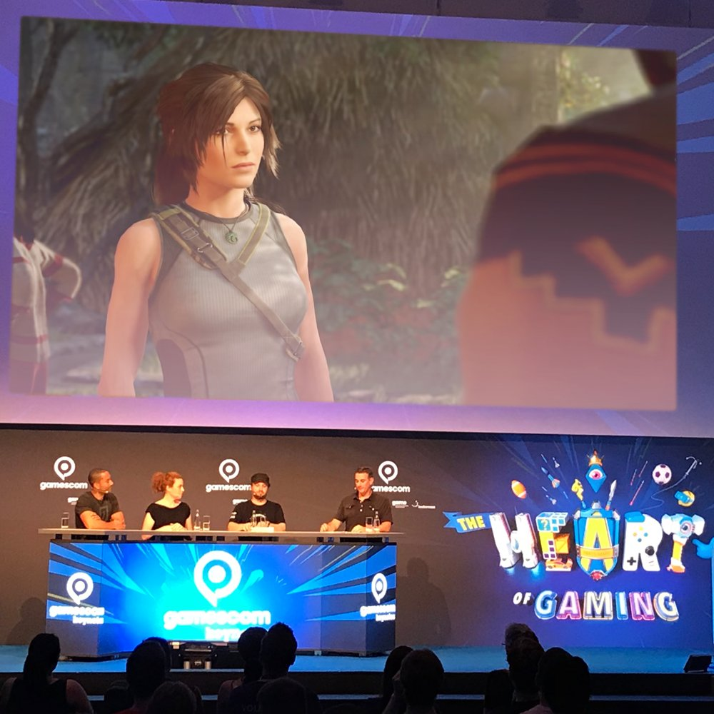 The Shadow of the Tomb Raider team explores Paititi and how Lara Croft has grown in the @Gamescom keynote. https://t.co/7MaxjbEPyF