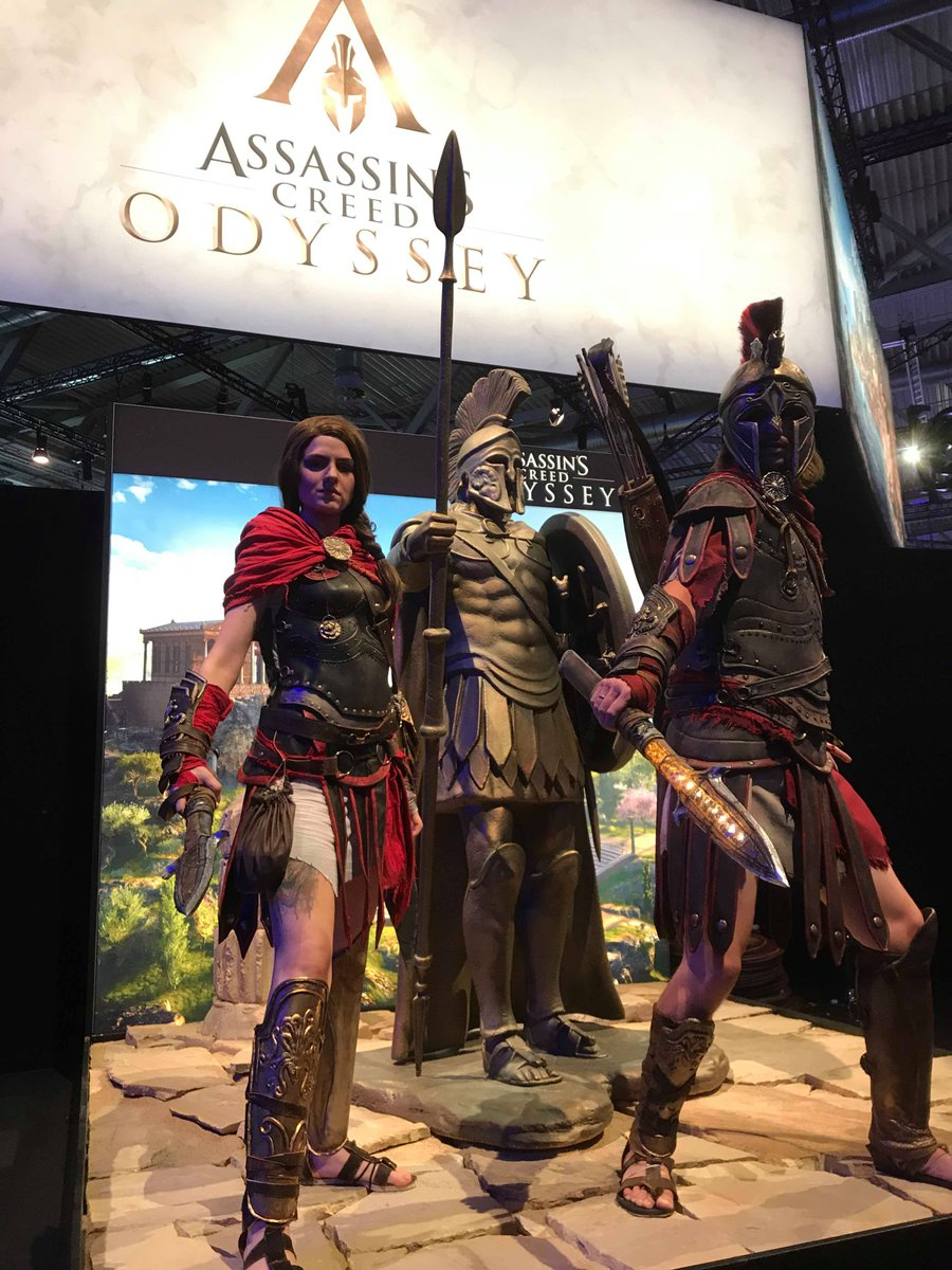 Ubisoft On Twitter Kassandra And Alexios At Ubigamescom