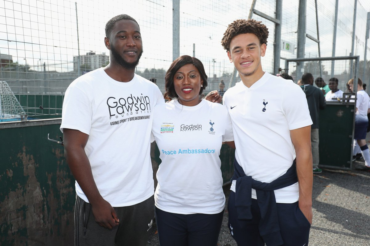 Picture of Luke Amos Spurs Foundation, called