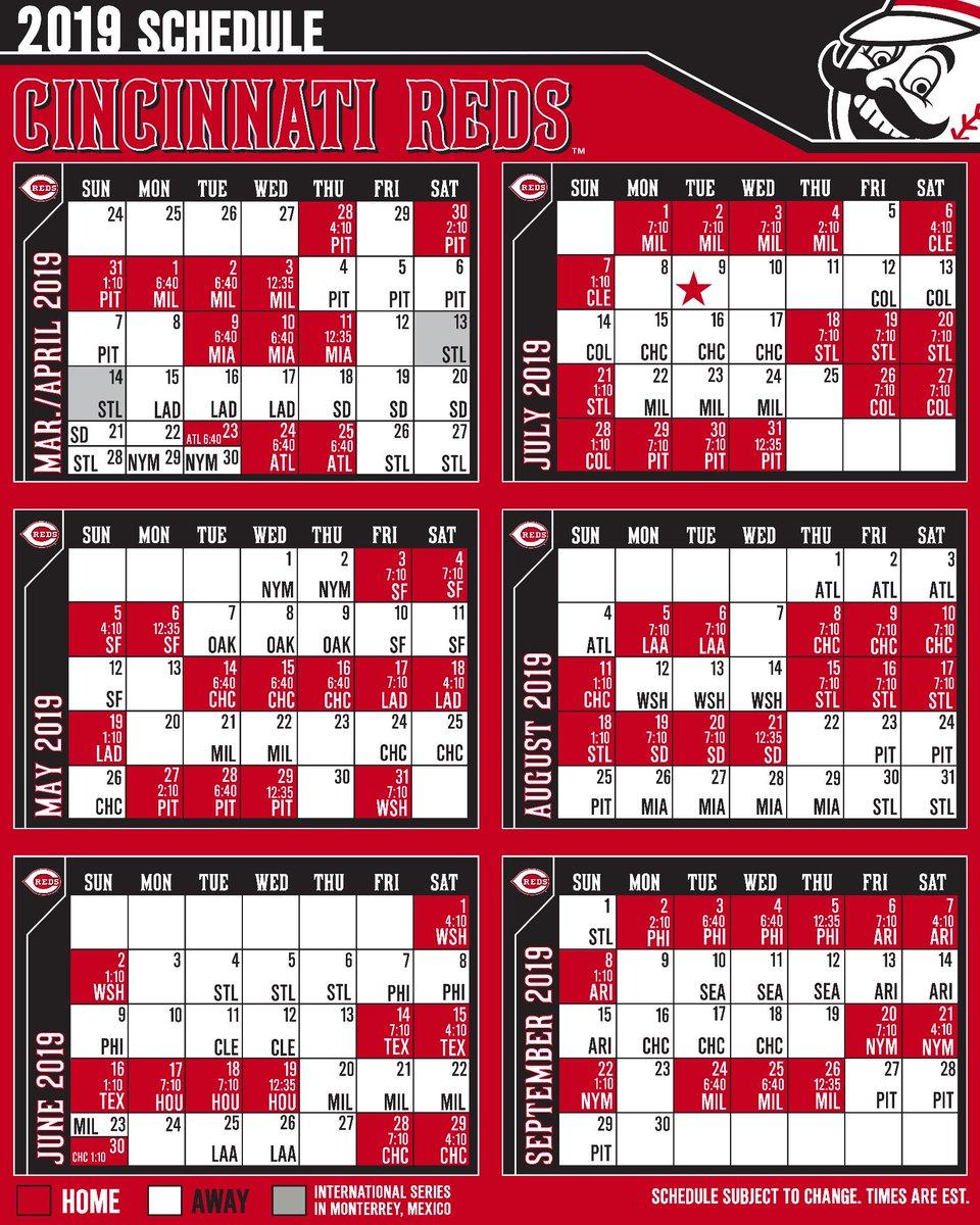 bf0161f7 Cincinnati Reds on Twitter: