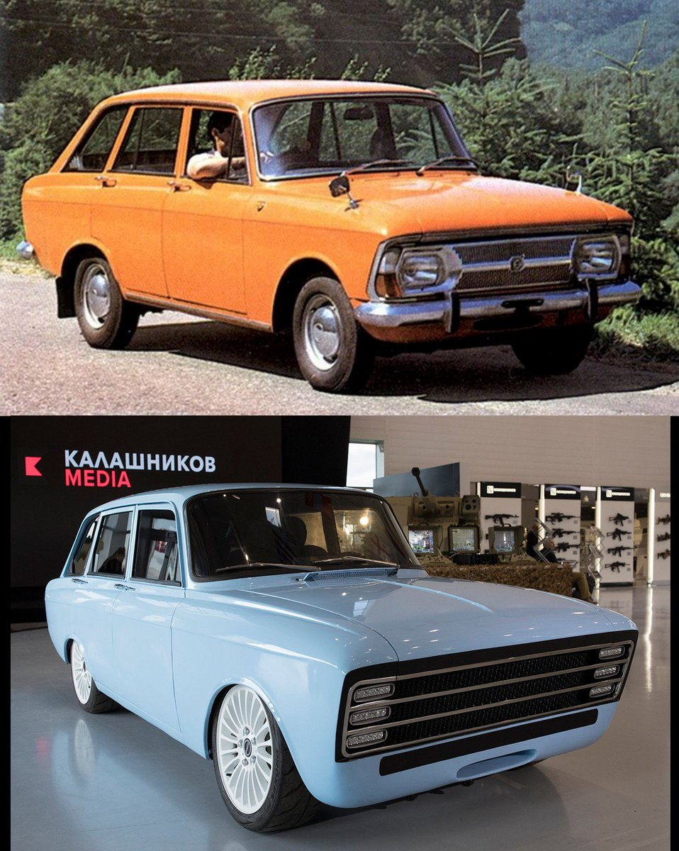 Kalashnikov Concern presented the concept electric vehicle based on IL Combi