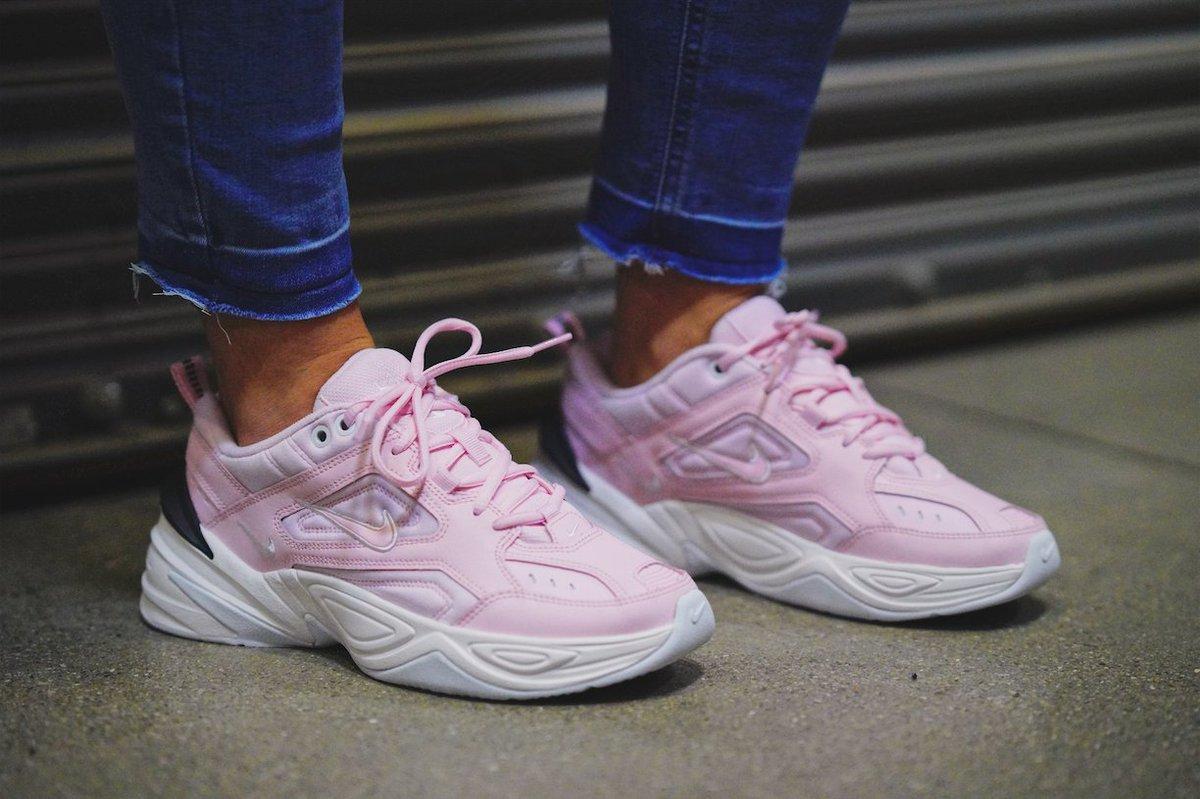 Nike M2K Tekno in 'Pink Foam