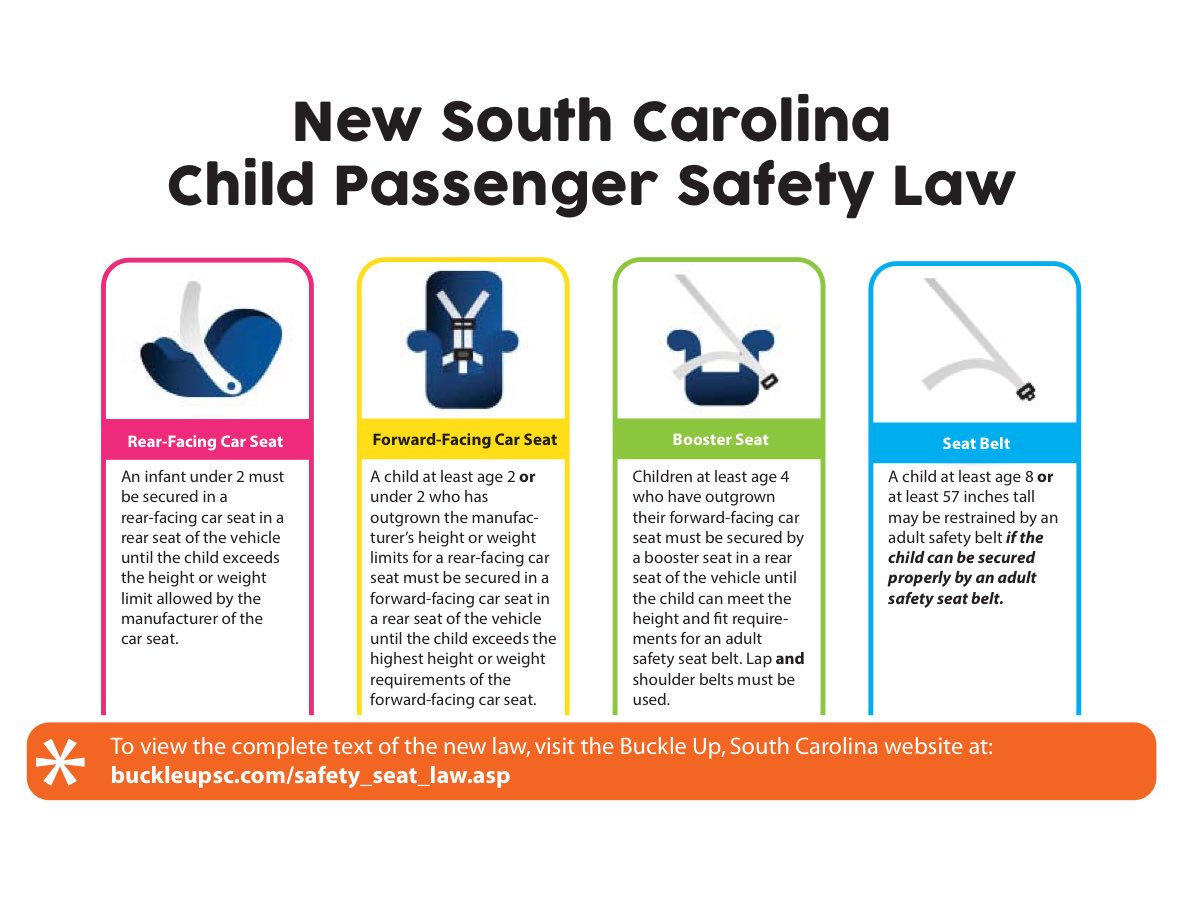 Call To Make An Appointment With A Car Seat Technician 843 740 2647 Also Checkout SCDPS PIOs Picture Below On Laws Pictwitter 1pSTHHi6g0